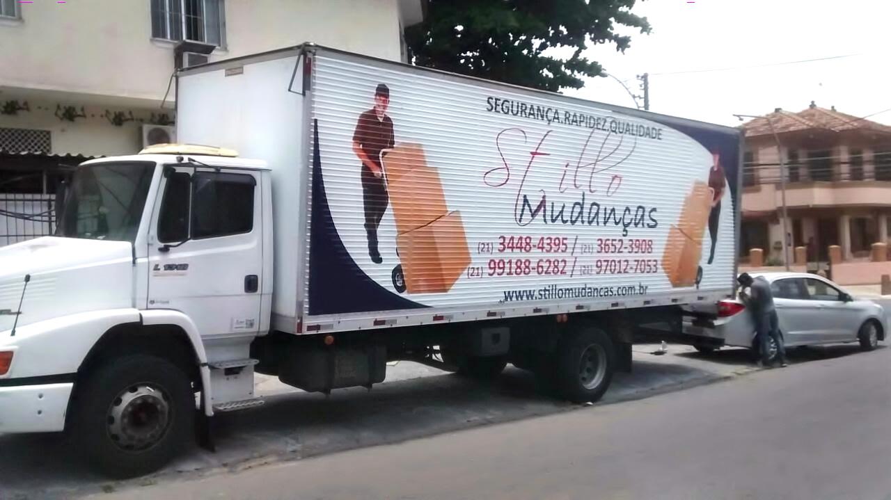 Caminhão Stillo Mudanças RJ